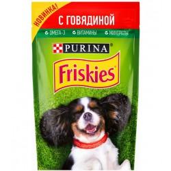 Пауч Фрискис для собак 85гр